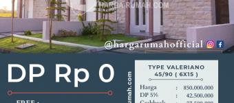 Harga Rumah Safira Garden Type Valeriano