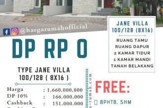 Harga Rumah Safira Juanda Type Jane Villa